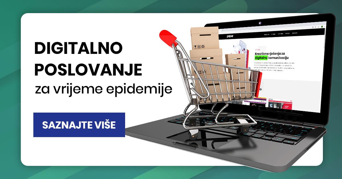 Digitalno poslovanje za vrijeme epidemije