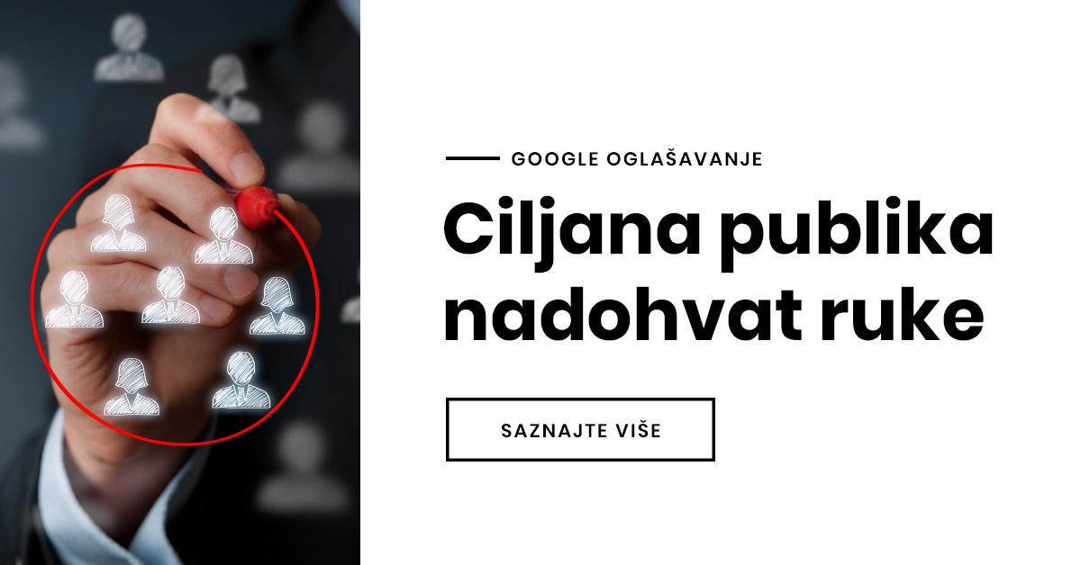 Google oglašavanje je must have!