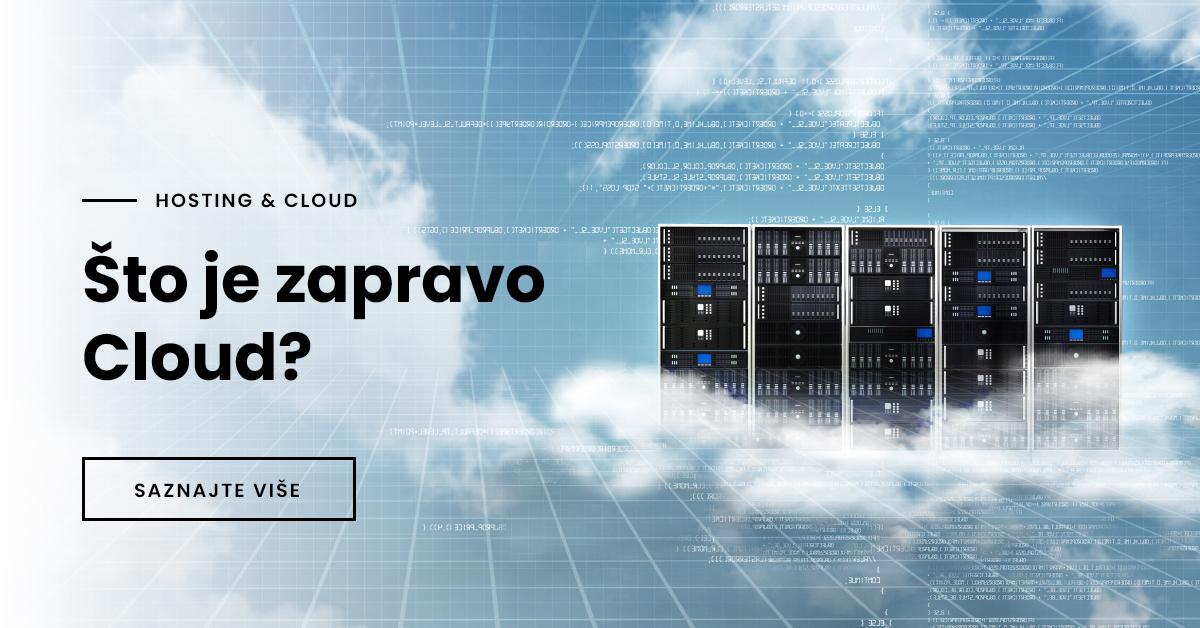 Što je zapravo Cloud?
